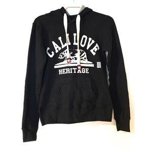 Black Cali Love Hoodie